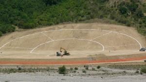 sbancamenti sul torrente Sarmento parco Pollino
