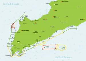 area riserva marina punta campanella